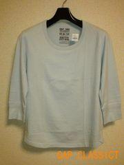 □GAP/ギャップ LASSIC 7分袖 Tシャツ/メンズ・S☆新品
