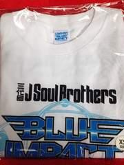 三代目JSB BLUE IMPACT Tシャツ 2014 xs EXILE 白 未開封