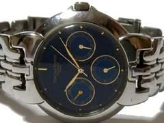 極レア品 1スタ★Charles vogele【3カレンダー】メンズ腕時計