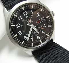 ◆本物確実正規SEIKO 5 セイコーファイブ メンズ腕時計 自動巻美品