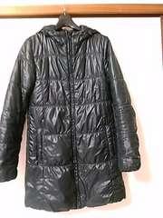 ユニクロ 黒コート Sサイズ レターパック510
