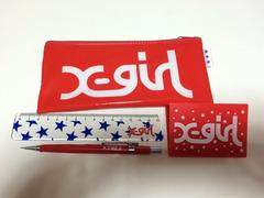 ★X-girl /ステーショナリーセット★