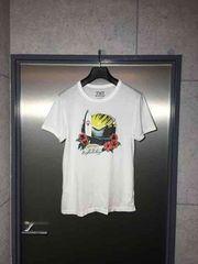 TMTティーエムティー/プリントTシャツ/白M