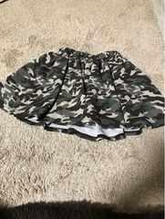 100円〜130センチ迷彩スカート
