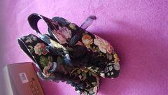 新品! 花柄 サンダル 24�p