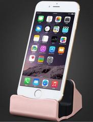 iPhone 充電 卓上スタンド usb ケーブル付き☆ローズゴールド