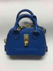【限定品】サマンサ タバサお洒落で可愛いミニバック飾り/ブルー