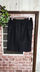 新品*フロントスリットタイトスカート*黒*3L4L*秋冬綺麗め