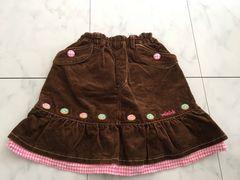 mini-kコーデイロィスカート★130cm