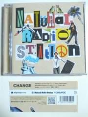 (CD)Natural Radio Station/ナチュラルレディオステーション☆CHANGE帯付き