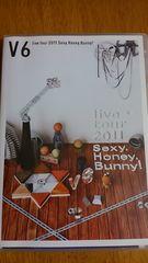 V6 2011ライブツアー Sexy.Honey.Bunny
