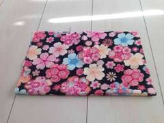 和柄  花柄  36×28cm