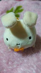 クレヨンしんちゃん☆ぺたんこクリーナーマスコット2☆ネネちゃんのウサギ