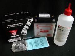 (926B)Z250FTZ650Z650LTDZ250FS高品質YUASA製バッテリー