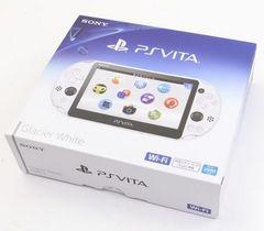 即決 PSVita本体 Wi-Fiモデル グレイシャーホワイト PCH-2000ZA22 付属品有