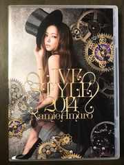 安室奈美恵/LIVE STYLE 2014【豪華盤:2DVD】初回仕様☆美品