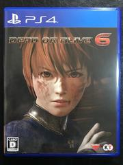 DEAD OR ALIVE6 極美品 初回コード付き PS4