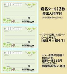 得◆Z-218◆ネコ.鳥*宛名シール…12枚♪