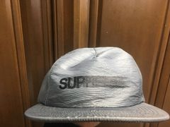 新品!supreme モーションロゴcapグレー/黒 シュプリームキャップ