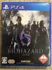 バイオハザード6 美品 PS4 BIOHAZARD6