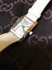 1スタ● 良品 アルマーニ 腕時計 レザーベルト