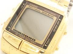 9160/CASIOカシオ★DATABANKフルゴールド★Quniee5thアニバーサリー限定モデル