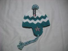mb46 男 QUIKSILVER クイックシルバー 耳当て付き ニット帽