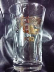 コカ・コーラ コカコーラ 100周年 記念 ゴールド プリント グラス コップ