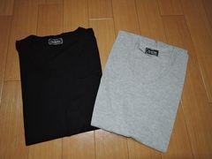 新品ナノユニバースnano・universeカットソーセットM黒灰Tシャツ