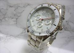 新品 定形外可能 腕時計 シルバー/ロレックス好きに