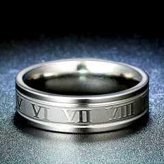 新品1円〜★送料無料★ 13号 ギリシャ シルバーリング 指輪 ステンレス鋼