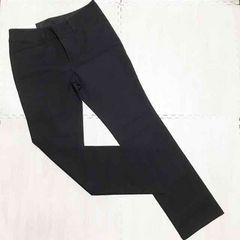 【NEW】スタイルアップストレートパンツ/64cm/黒/ユニクロ