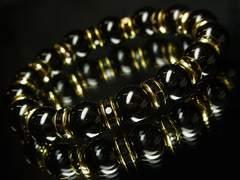 オラオラパワーストーンブレスレット!!ブラックオニキス10ミリ数珠