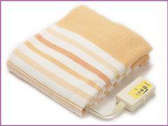 【早い者勝ち♪】洗える電気毛布 安心 日本製 オレンジ