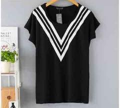新品★LL3L対応★ラインロゴ★柔らかストレッチTシャツ★黒