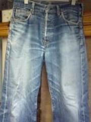 リーバイス702ビッグEセルビッチ色落ちジーンズ
