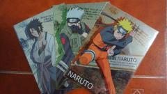 NARUTO メタルポストカード Aナルト Bサスケ Cカカシ 3枚