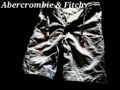 【Abercrombie&Fitch】Vintage Destroyed デストロイチノショーツ 32/Grey