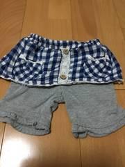 西松屋  夏物ショートパンツ 80   女の子用