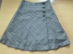 ROPE★グレンチェックスカート