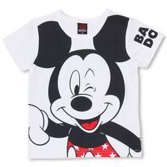 新品BABYDOLL☆140 ディズニー ミッキー Tシャツ 白 ベビードール