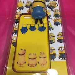 iPhone5s 5 SE ミニオン ケース カバー