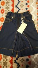 *新品☆90�p・スカートみたいにみえるズボン*