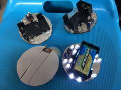 安売り!電池式LEDホイールマーカーユニット!デコトラ。レトロ