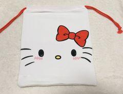 キティ☆のびる巾着