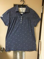ポロシャツ 紺色(半袖)