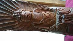 江戸時代…運慶〜円空…樫の木一刻彫り…仏像→ノミ掘り