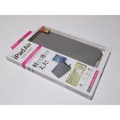 ☆ELECOM iPad Air 対応 クレバーシェルカバー保護フィルム付