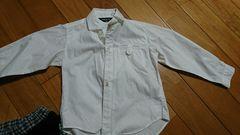 コムサ 白シャツ100