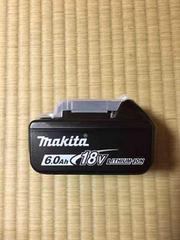 新品マキタ18V6.0AhスライドバッテリーBL1860B